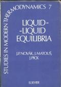 Liquid-liquid equilibria