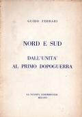 Nord e Sud Dall'Unità al primo dopoguerra