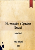 Microcomputers in Operations Research