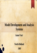 Model Development and Analysis Systems