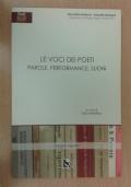 Le voci dei poeti. Parole, performance, suoni. Con CD-ROM