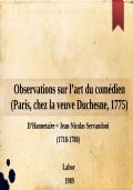 Lettres à Eugénie sur les spectacles (1796)