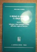 IL REGNO DI SARDEGNA E L�ITALIA UNITA Estratto da Istituzioni e fonti normative in Italia dall�antico regime al fascismo