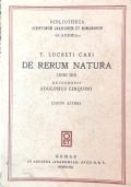 DE RERUM NATURA -  Libri sex