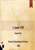 L'année 1789