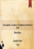 Encyclopédie, «Lumières» et tradition au 18e siècle en Italie
