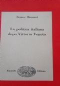 la politica italiana Dopo Vittorio Veneto