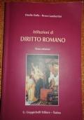 ISTITUZIONI DI DIRITTO ROMANO (terza edizione)