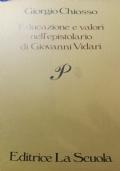 educazione e valori nell'epistolario di Giovanni vidari