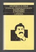 STORIA DEL PENSIERO SOCIALISTA - SOCIALISMO E FASCISMO 1931 - 1939