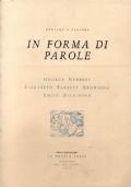 In forma di parole. Cinque poeti in dialetto veneto. Anno XVIII, Nr. 3