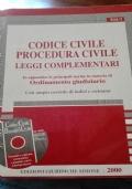 Codice civile, procedura civile e leggi complementari