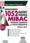CONCORSO 1052 ASSISTENTI VIGILANZA MIBAC