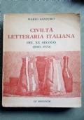 Civilt� letteraria italiana del xx secolo