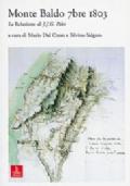 Monte Baldo 7bre 1803. La Relazione di J. J. G. Pelet