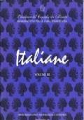 ITALIANE VOLUME III