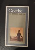 Goethe Le affinit� elettive