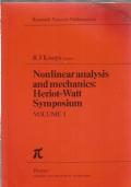 Nonlinear analysis and mechanics : Heriot-Watt symposium. Volume 1