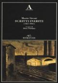 Scritti inediti (1927-1931)