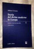 STORIA DEL DIRITTO MODERNO IN EUROPA, LE FONTI E IL PENSIERO GIURIDICO 1