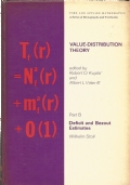 Value-distribution theory (in two parts) : proceedings of the Tulane University program on Value-distribution theory in complex analysis and related topics in differential geometry. Part B : Deficit and Bezout estimates / Wilhelm Stoll