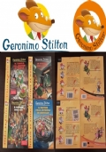 Geronimo Stilton, LOTTO 4 LIBRI,  N.ri 30, 45, 49, 65, Edizioni PIEMME Junior.