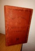 1887 manuale Hoepli MITOLOGIA COMPARATA De Gubernatis seconda edizione