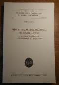 PRINCIPI E REGOLE INTERNAZIONALI TRA FORZA E COSTUME Le relazioni anglo-sabaude nella prima met� del Settecento