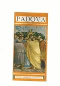 Padova - guida artistica illustrata con pianta dei monumenti