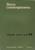 Storia Contemporanea.Anno XVI, Dicembre 1985. Rivista Bimestrale Di Studi Storici.