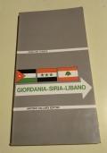 GIORDANIA - SIRIA - LIBANO - GUIDA DEL TURISTA - nuova edizione-turistica-beirut-damasco-amman-storia-arte-munumenti