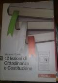 12 LEZIONI DI CITTADINANZA E COSTITUZIONE VOLUME 2