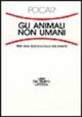 Gli animali non umani