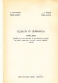 APPUNTI DI ELETTRONICA. Vol 1 - Quaderno di esercitazioni su applicazioni pratiche con diodi, transistori, circuiti integrati digitali e lineari