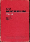 GUIDA MICHELIN ITALIA 1981