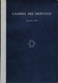 CAMERA DEI DEPUTATI, Annuario 1991