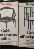 GUIDA ALL�ANTIQUARIATO ITALIANO volume 1 e 2