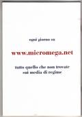 MicroMega n. 1/2009 + Marco Travaglio: LO STRANO CASO DEL GENERALE MORI (allegato)