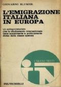 L�emigrazione italiana in Europa
