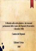 L'adesione al Patto Atlantico : 11-27 marzo 1949