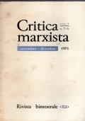 Critica marxista. Numero 6 1969