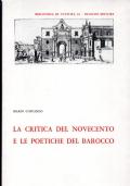 La critica del Novecento e le poetiche del Barocco