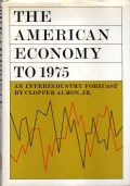 The American Economy to 1975. An Interindustry Forecast.