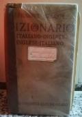 Dizionario Italiano- Inglese, Inglese- italiano