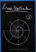 Linea teatrale 15 Anno VII - N 2 Settembre 1991