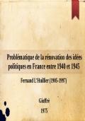 Problemi della politica estera italiana: 1943-50