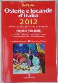 OSTERIE E LOCANDE D'ITALIA - guide bell'italia