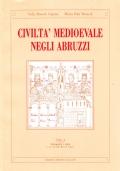Civiltà medioevale negli Abruzzi. Vol. II. Testimonianze