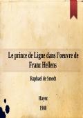Des Lettres à Eugénie à l'Instruction secrète: compléments à la bibliographie des éditions anciennes du prince de Ligne