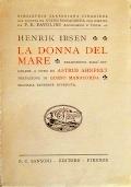 LA LIRICA DI HOELDERLIN - Volume Primo: Saggio Biografico Critico Riduzione In Versi Italiani - Volume Secondo: Commento